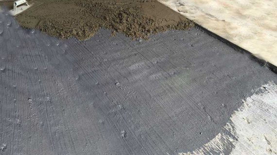 Cementitious Waterproofing Application