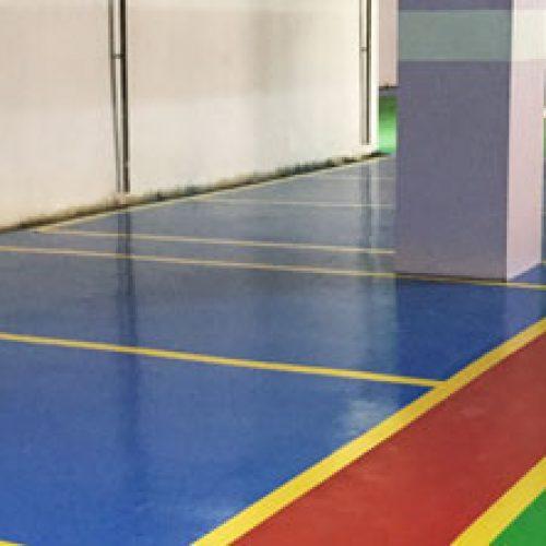 Epoxy / PU Car Parking Garage  Flooring